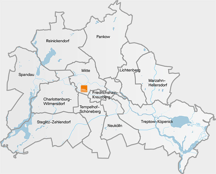 Wohnquadrat Berlin GmbH: Zentral in Berlin