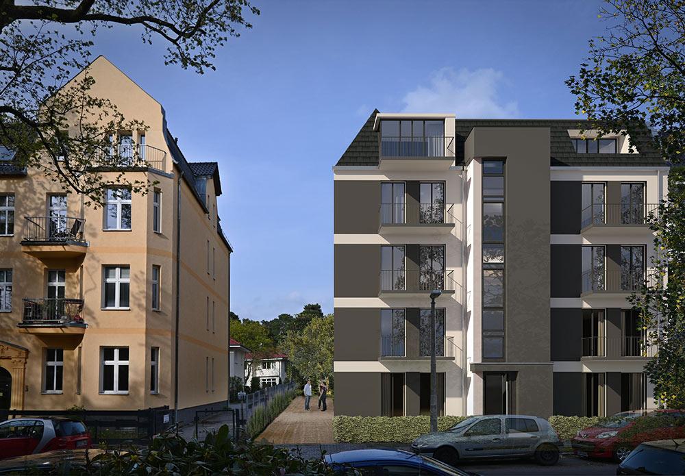 Neubau Wohnung kaufen in Niederschönhausen